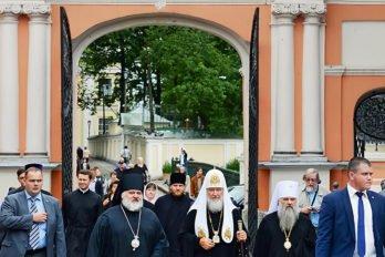 В Свято-Троицкой Александро-Невской лавре