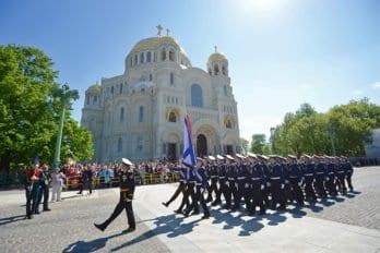 Торжества вчесть освящения Морского собора вКронштадте