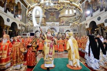 Освящение Никольского Морского собора вКронштадте