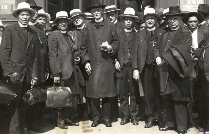 Мексиканские священники, выдворенные из страны в 1926 году