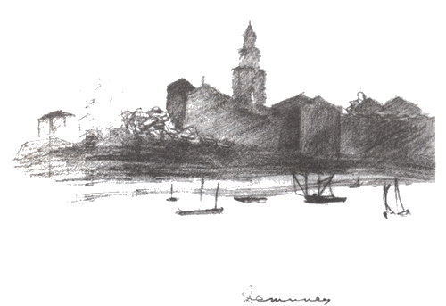 Рисунок Д. С. Лихачева