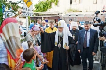 Прихожане подворья Русской Православной Церкви вТокио