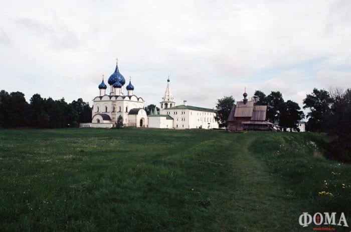 Суздаль. Богородице-Рождественский собор. Фото Екатерины Соколовой