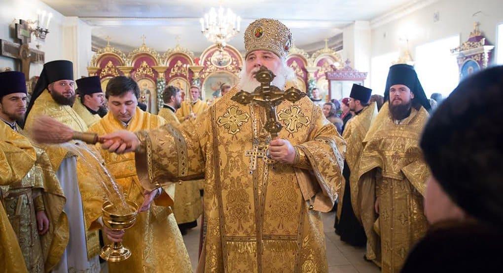 Андреевский храм на Ваганьковском кладбище отметил 100-летие