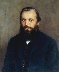 1RD-109-A1 -------------------- D: -------------------- M.A.Balakirew / Gem.v.Meschtschaninow Balakirew, Milij Aleksejewitsch; russ. Komponist; Nischnij Nowgorod 2.1.1837 - St.Petersburg 29.5.1910. - Portraet. - Gemaelde, undat., von N.P.Meschtschani- now. Oel auf Leinwand, 75 x 60 cm. Moskau, Glinka-Museum fuer Musikkultur.