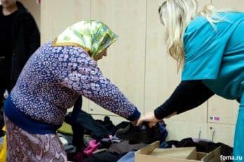 В фонде «Справедливая помощь». 2011 год. Фото Юлии Маковейчук