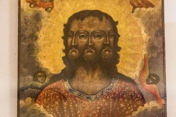 Неканоническая икона Святой Троицы