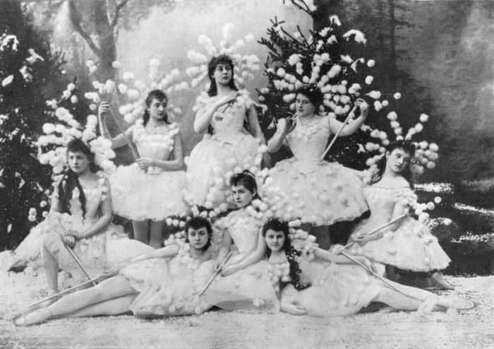 "Сцена из балета ""Щелкунчик"". Мариинский театр, 1892"