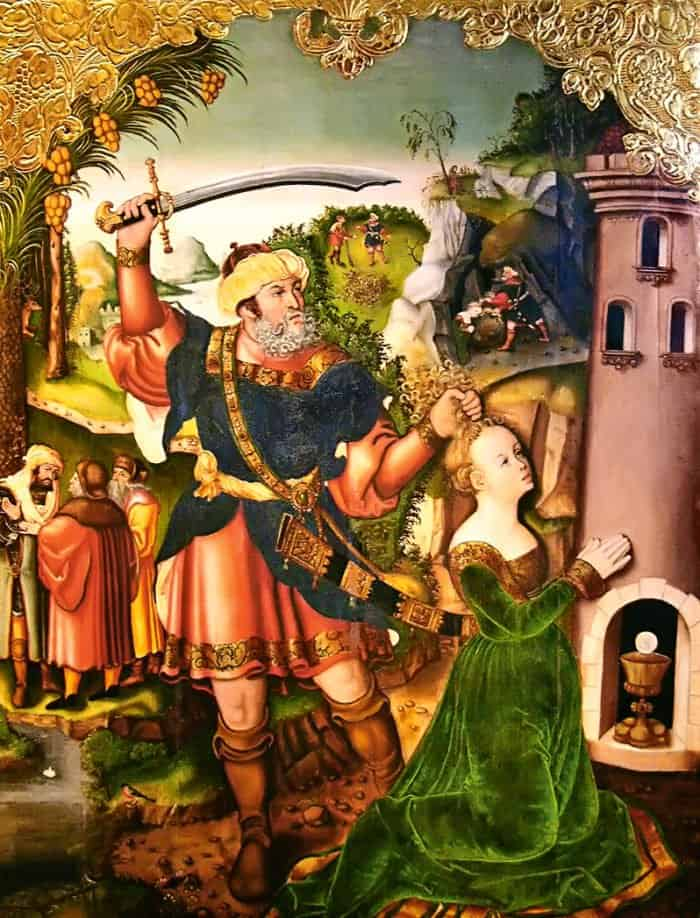 Мученичество святой Варвары. 1546