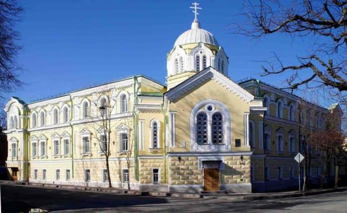 Царскосельская Императорская Николаевская гимназия, директором которой был И.Ф. Анненский