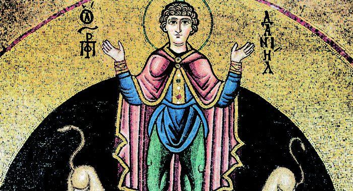 Церковь чтит память пророка Даниила и трех святых отроков