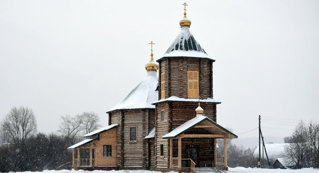 Освящен единственный российский храм в честь Лазаря Галисийского