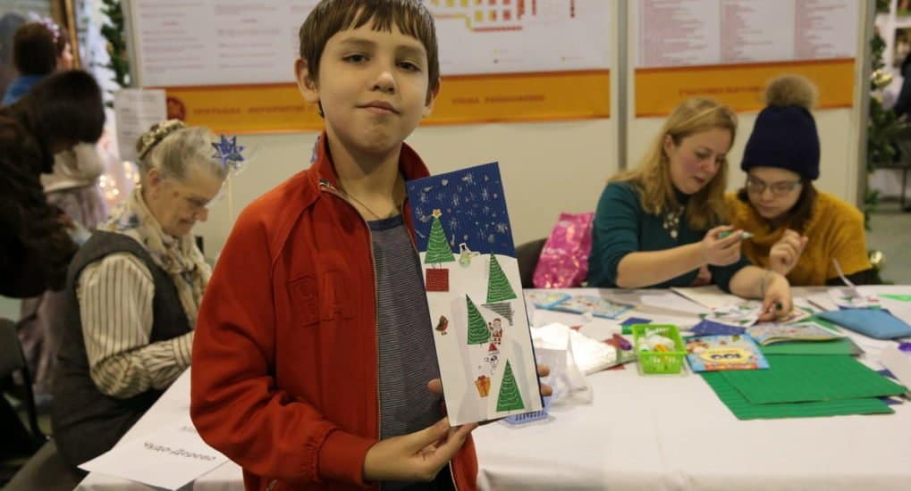 Как сделать рождественскую открытку своими руками