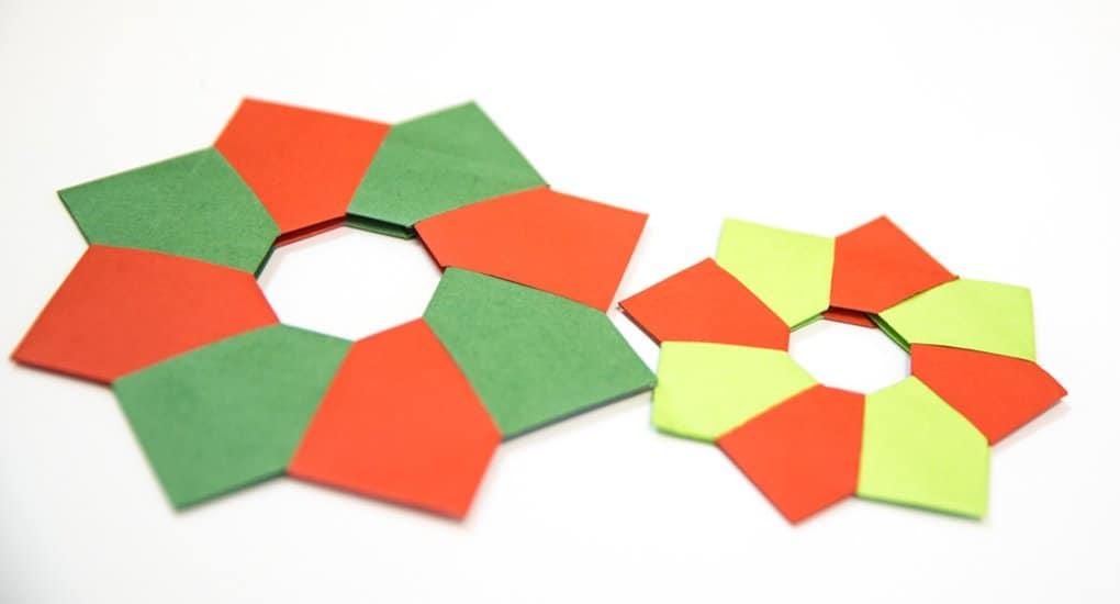 Рождественское оригами. Фотоинструкция