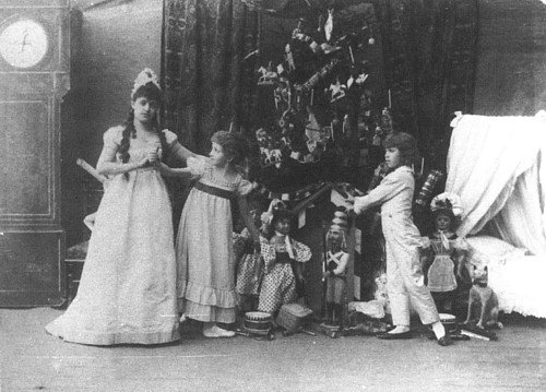 Фрагмент спектакля «Щелкунчик» в постановке Императорского Мариинского театра, 1892