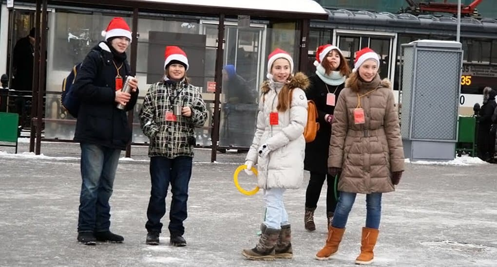 Православные подростки собрали средства на ужин для нуждающихся