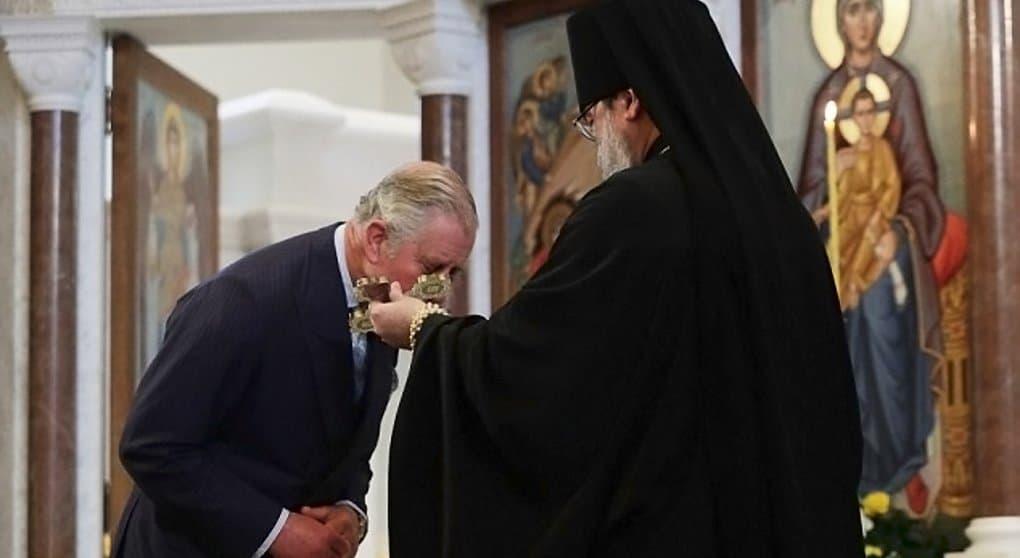 Принц Чарльз посетил русский собор Лондона и получил в дар икону
