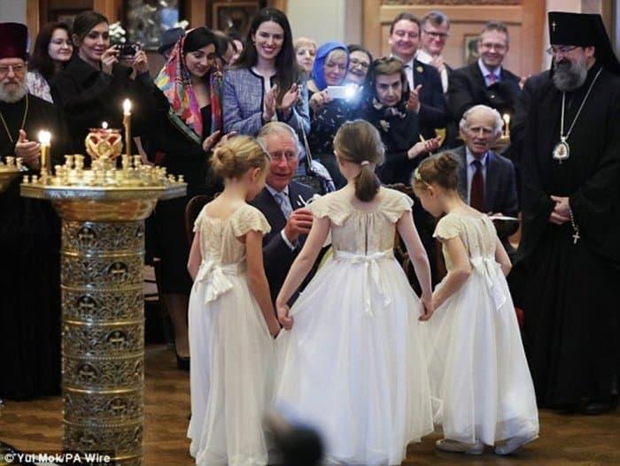 Принц Чарльз посетил службу врусском соборе встолице Англии