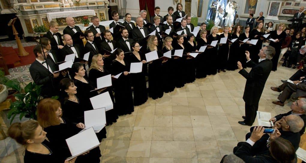 Московский Синодальный хор дал совместный с католиками концерт в Риме