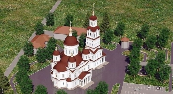 В основание будущего собора Ейска вложили камни с Фавора