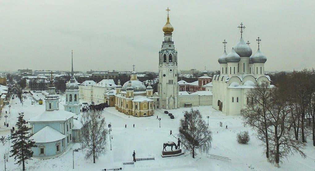 В Вологде освятили, возвращенный Церкви, Воскресенский собор