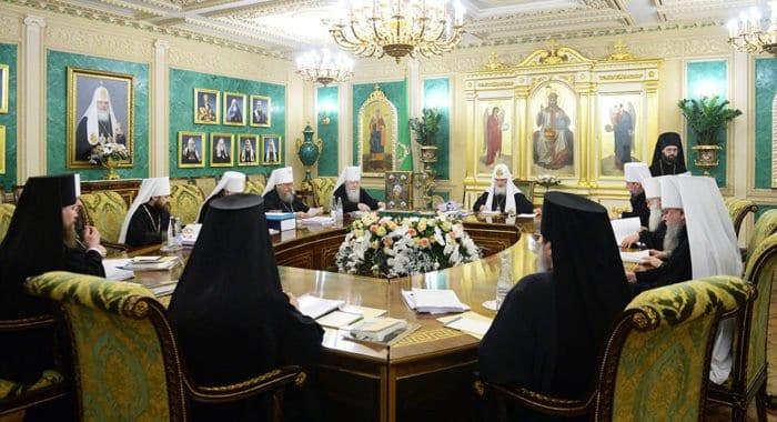 Подведены итоги очередного заседания Священного Синода Русской Церкви