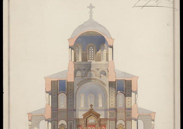 Проект Вознесенского собора