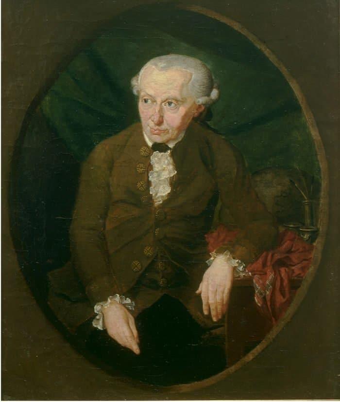 Портрет Иммануила Канта (1724-1804), 1791