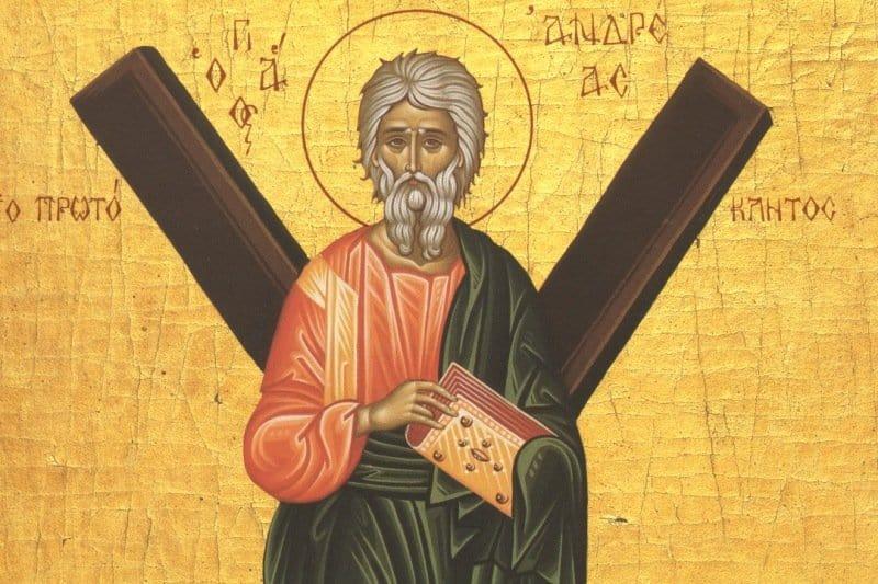 Краткое житие святого апостола Андрея Первозванного
