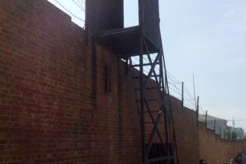 Русская тюрьма в Порт-Артуре. Вышка