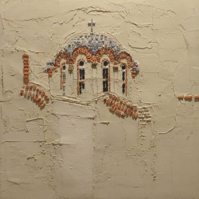 Как церковный художник делает невероятные картины из мозаики