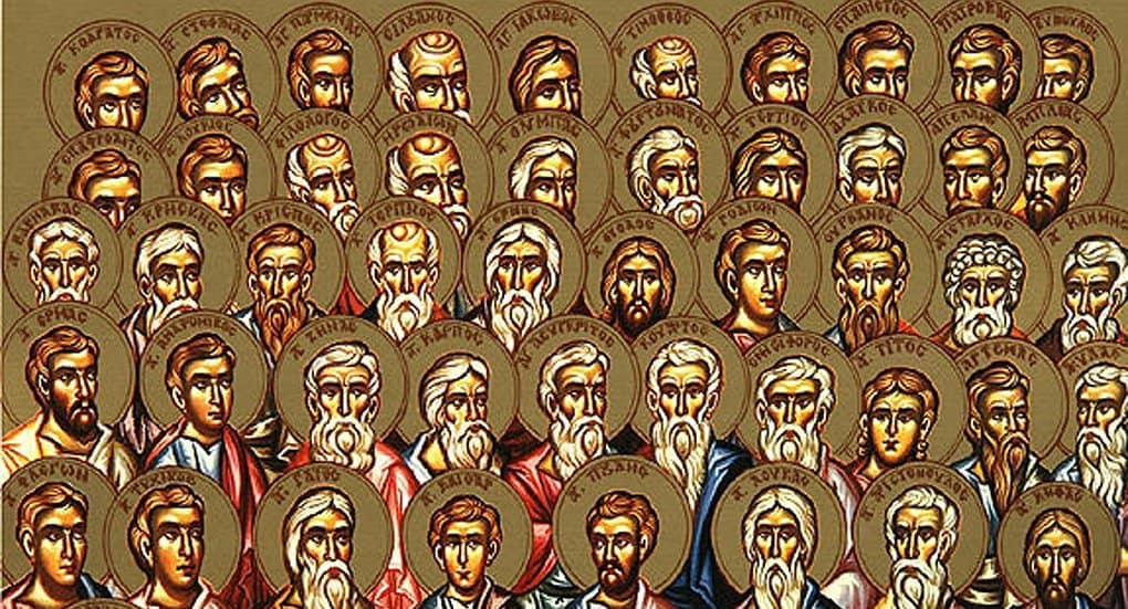 Церковь празднует Собор 70-ти апостолов