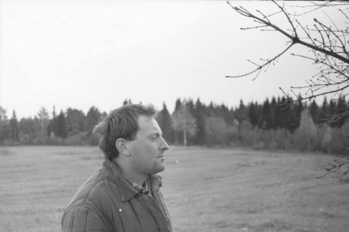 Иосиф Бродский - фотография времен ссылки
