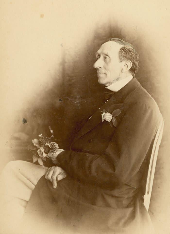 Ханс Кристиан Андерсен, 1870, Georg E. Hansen