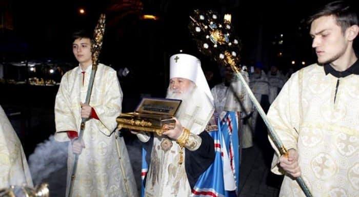 Мощи святителя Феофана Затворника принесены в Среднюю Азию