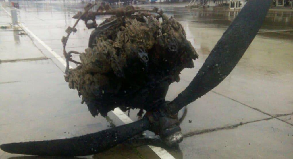 Перед Крещением водолазы нашли в Черном море самолет и три авиабомбы