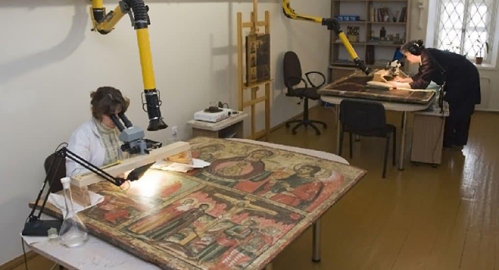 В Софию Новгородскую вернут восстановленную фреску XV века