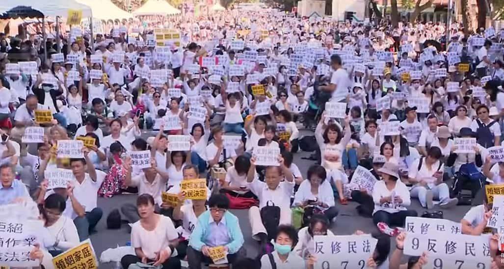 Христиане Тайваня против легализации в стране однополых браков