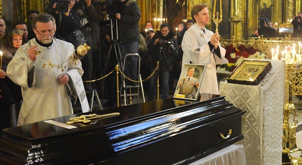 Валерия Халилова похоронят у алтаря храма, который он помогал возрождать