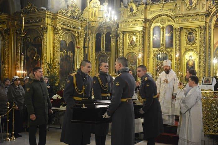 Состоялось отпевание военного дирижера Валерия Халилова