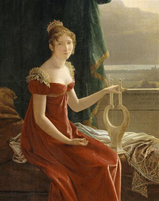 прически 1812 года женские