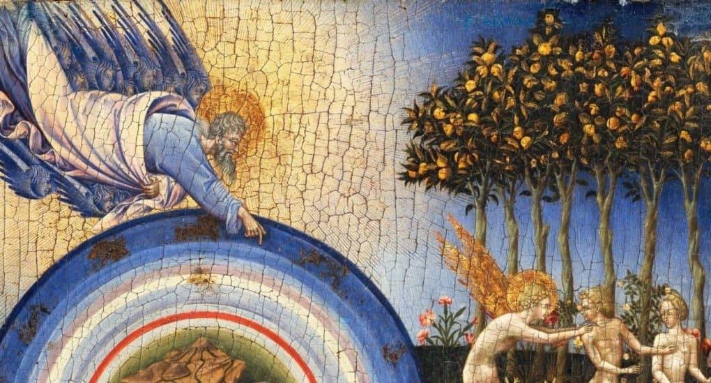 Адамово изгнание из Рая: потерянная вечность