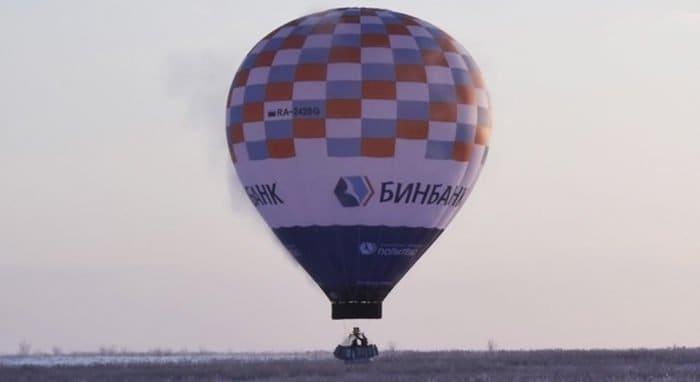 Отец Федор Конюхов отправился за рекордом на тепловом аэростате