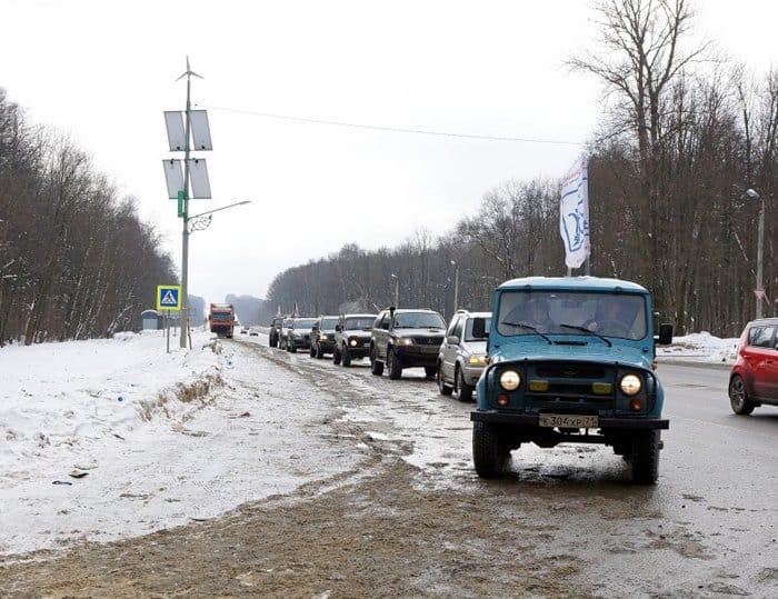 В Туле состоялся массовый автопробег в память о новомучениках