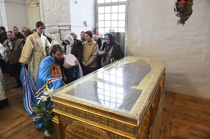 Церкви передали храм, в котором хранятся мощи Кирилла Белозерского