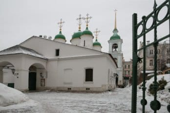 Храм Троицы в Листах. Фото Владимира Ештокина