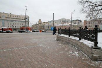 Сретенка переходит в Садовое кольцо. Место, где находилась Сухарева башня. Фото Владимира Ештокина