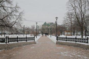 Садовое кольцо в конце Сретенки. Фото Владимира Ештокина