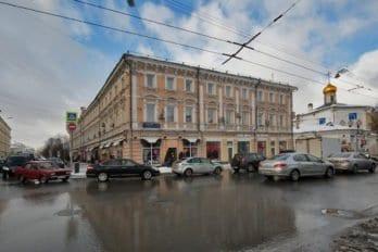 Улица Сретенка, дом 1. Фото Владимира Ештокина