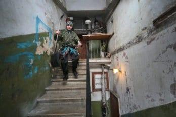 Подъезды Сретенки. Фото Владимира Ештокина